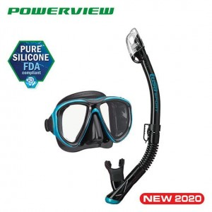 Zestaw Tusa Powerview Adoult Dry Combo